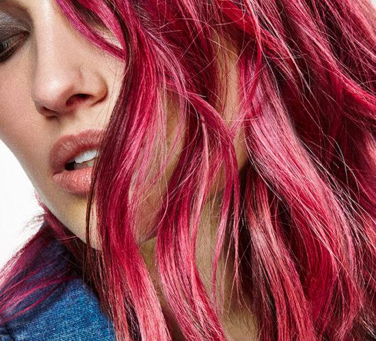 Loreal Pink Hair